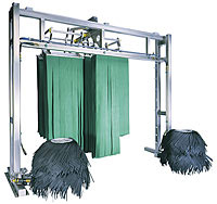 4 Basket Front to Rear Mitter Curtain