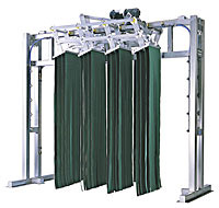 8 Basket Side to Side Mitter Curtain
