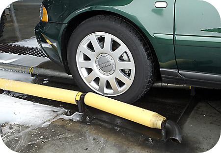Drive Thru Car Wash >> Drive Thru Safety Guide Rail
